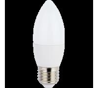 СПУТНИК LED7-С37-/E27 свеча 7Вт 160-260B 3000K
