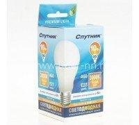 СПУТНИК Led10-A60/3000К/E27/лампа светод.10Вт 160-260B