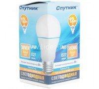 СПУТНИК Led12-A60/3000К/E27/лампа светод.12Вт 160-260B