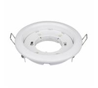 Светильник потолочный встраиваемый GX53 белый