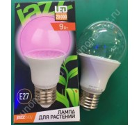 Лампа А60 Agro 9w CLEAR E27 IP20