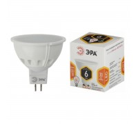 ЭРА светодиодная лампа smd MR 16-6W-827-GU5.3 6 вт