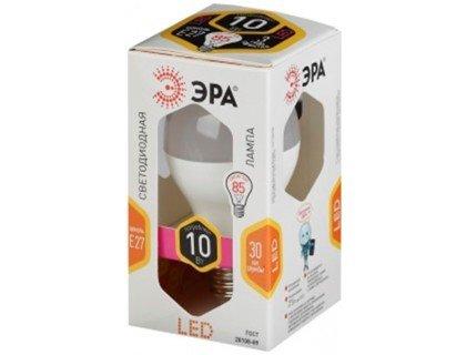 Светодиодная лампа ЭРА smd A60-10W-827 E27 ECO