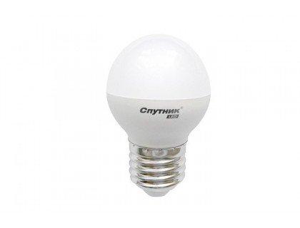 СПУТНИК LED7-G45-/E27 шар 7Вт 160-260B 4000K