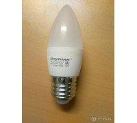 СПУТНИК LED5-С37-E27 свеча 5Вт 220-240B 4000K