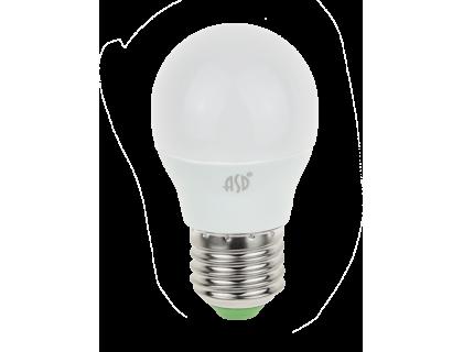 ASD LED 7.5-G45/E27 4000K холодный свет