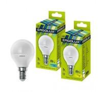 ERGOLUX LED 7-G45/845/E14