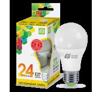 ASD LED 24-A60-E27-3000K лампа светодиодная 24Вт 210-240В тёплый свет