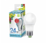 ASD LED 24-A60-E27-4000K лампа светодиодная 24Вт 210-240В холодный свет