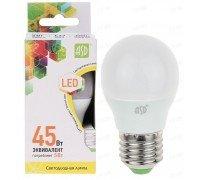 ASD LED 5-A60-E27-3000 лампа светодиодная 5Вт 210-240В тёплый свет стандартной формы