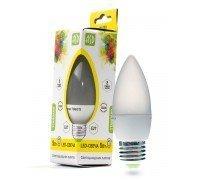 ASD LED 5-C35-E27-3000 свеча лампа светодиодная 5Вт 210-240В тёплый свет
