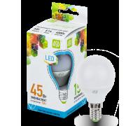 ASD LED 5-C45-E14-4000 лампа светодиодная шар 5Вт 210-240В холодный свет