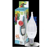 ASD LED 5-CA37-E14-4000 свеча на ветру 5Вт 210-240В холодный свет