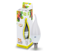 ASD LED 7.5-CA37-E14-3000 свеча на ветру 7.5Вт 210-240В тёплый свет