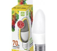 ASD LED 7.5-CA37-E27-3000 свеча на ветру 7.5Вт 210-240В 3000К тёплый свет
