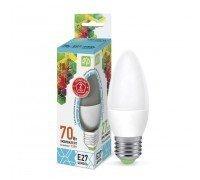 ASD LED 7.5-C35-E27-4000 свеча 210-240Вт холодный свет