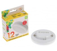 ASD LED 12-GX53-3000 12Вт 210-240В теплый свет