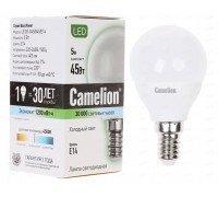 CAMELION LED 5-G45-845-E14 шарик 5Вт 220В
