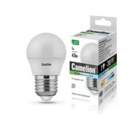 CAMELION LED 5-G45-845-E27 шарик 5Вт 220В