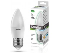 CAMELION LED 7-C35-845-E27 Свеча 7Вт 220В