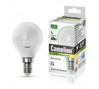 CAMELION LED 7-G45-830-E14 шарик 7Вт 220В