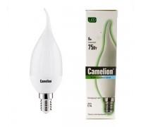 CAMELION LED 8-CW35-845-E14 свеча на ветру лампа светодиодная 8Вт 220В