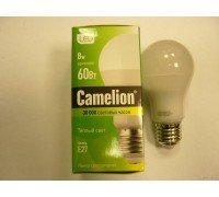 CAMELION LED 8-G45-845-E27 8Вт 220В шарик