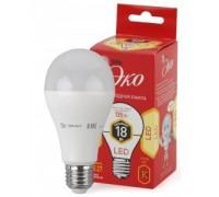 Эра Светодиод. лампа  ECO LED A60-18W-827-E27