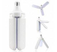 Складная светодиодная лампа Fan Blade Led Buld 45Вт, 6500К