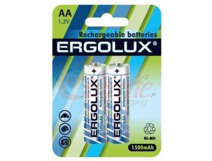 ERGOLUX Aккум.R6 BL2 1500mAh/Ni-Mh