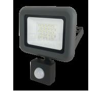 JAZZWAY Прожектор светодиодный PFL- C- 50w new Sensor 6500K IP54 (с рамкой)