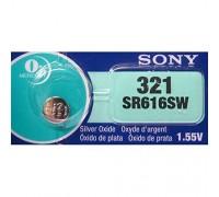 SONY №321 SR616SW BL1 10 шт/кор часовые