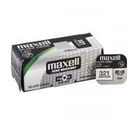 MAXELL №321 SR616SW BL1 10 шт/кор часовые