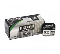 MAXELL №362 SR721SW BL1 10 шт/кор часовые