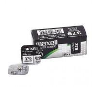 MAXELL №379 SR521SW BL1 10 шт/кор часовые