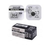 MAXELL №364 SR621SW BL1 10 шт/кор часовые