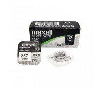 MAXELL №357 SR44W BL1 10 шт/кор часовые