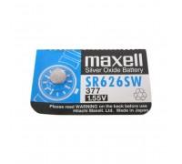 MAXELL №377 SR626SW BL1 10 шт/кор часовая