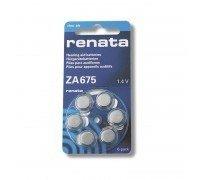 RENATA ZA 675 BL6 для слуховых аппаратов часовые