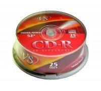 VS Диски CD-R Cake 25 шт/кор