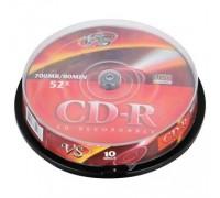VS Диски CD-R Cake 10шт/кор