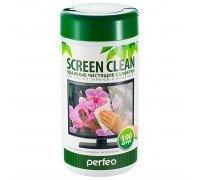 "PERFEO Салфетки чистящие ""Screan Clean"" для LCD/TFT экранов и мониторов в тубе"