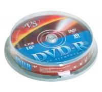 VS Диски  DVD-R Cake 10 шт/кор