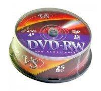 VS Диски DVD-RW Cake 25 шт/кор