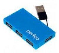 PERFEO USB-ХАБ 4 порта (PF-VI-H023) синий