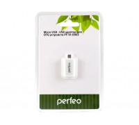 PERFEO Micro USB USB адаптер для OTG устройств PF-VI-O002