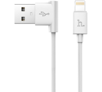 HOCO КАБЕЛЬ USB-iPhone 5-8 UPL11 L-образный дизайн белый 1.2 метра