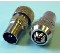 Антенный штекер метал.-7043