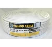 Коаксиальный кабель OBIHOD RG-6 омедн. белый