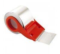 Сила Клейкая лента TME72-08 металлизированная 48мм*10м с диспенсером